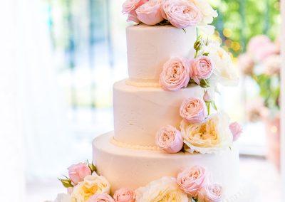 Cake in stile floreale