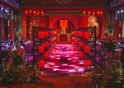 Unconventional wedding in stile orientale