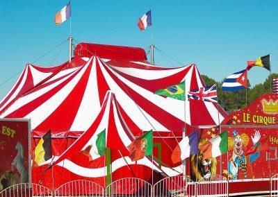 Unconventional wedding sotto il tendone da circo