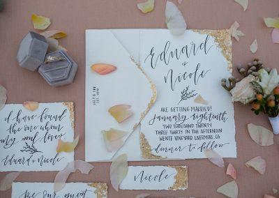 Inviti lettering
