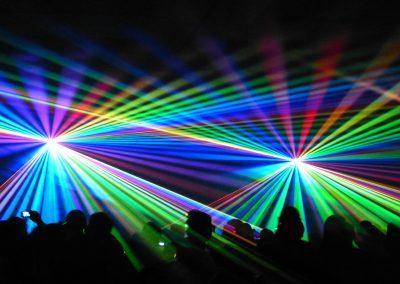 Luci laser
