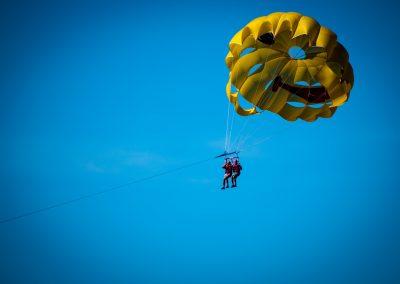 Unconventional wedding con il paracadute