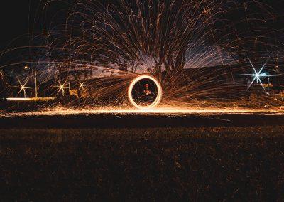 Spettacoli di luce e fuoco