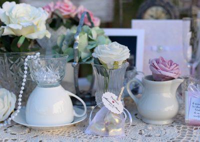Wedding gift con confetti personalizzati